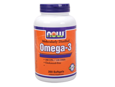 NOW OMEGA-3 Molecular Dist. 1000mg (180/120) md - 100 perle.