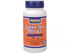 NOW Green Tea Extract 400mg+60mg Vit.C - 100 caps.