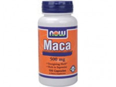 NOW Maca 500mg - 250 caps.