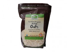 NOW Organic Rolled Oats Fiocchi d'avena - 680 g