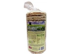 BPR NUTRITION - GALLETTE DI AVENA BIO - 100 Gr.