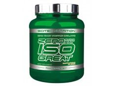 SCITEC - ISOGREAT ZERO SUGAR/ZERO FAT - 900 gr.
