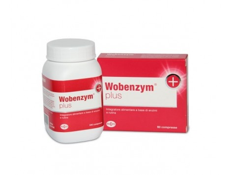 Wobenzym plus - 60 cpr.