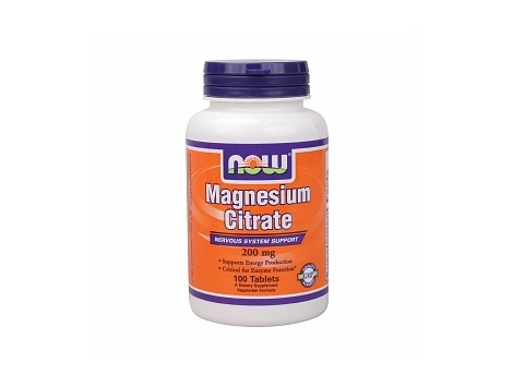 NOW - Magnesium Citrate 200 mg.