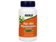 NOW - REI-SHI MUScHROOMS 270 mg 100 cps