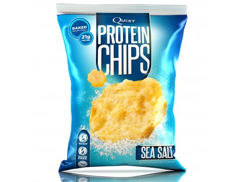 QUEST - PROTEIN CHIPS - 32 gr. gusto sale marino